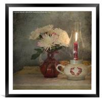 Candlelight, Framed Mounted Print