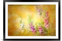 A Day in June, Framed Mounted Print