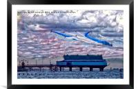 Cleethorpes Salute Colour, Framed Mounted Print