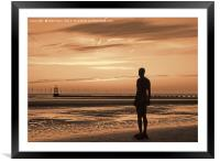 The Over-looker, Framed Mounted Print