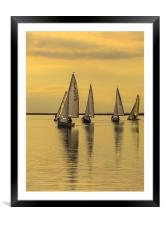 Leading the way, Framed Mounted Print