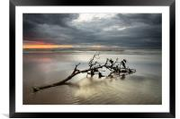 Weather Front, Framed Mounted Print