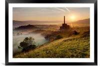 Dawn on Industry, Framed Mounted Print