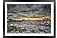Winter Warmers, Framed Mounted Print