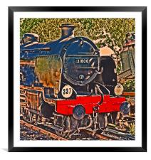Southern U Class No 31806, Framed Mounted Print