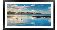 Torquay in the Spring time, Framed Mounted Print