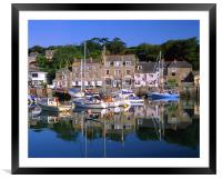Padstow Harbour, Framed Mounted Print