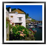 Old Watch House & Polperro Harbour, Framed Mounted Print