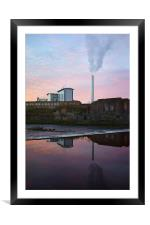 Urban Reflections, Framed Mounted Print