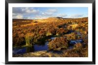 Footpath to Burbage Rocks, Framed Mounted Print