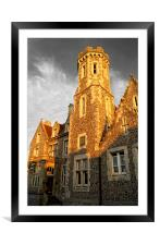 Purbeck House Hotel, Framed Mounted Print