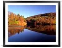 Ladybower Reflections, Framed Mounted Print