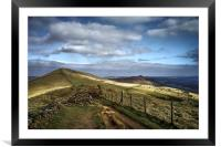 Footpath to Lose Hill , Framed Mounted Print