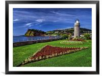Teignmouth Lighthouse , Framed Mounted Print