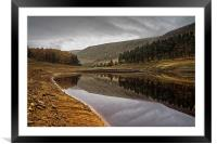Howden Autumn Reflections , Framed Mounted Print