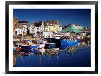 The Barbican, Plymouth, Framed Mounted Print