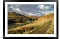 Footpath To Little Moor, Howden Reservoir         , Framed Mounted Print