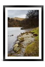Rydal Water , Framed Mounted Print