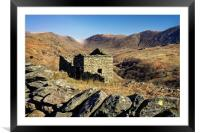 Abandoned Barn,Kirkstone Pass,Lake District       , Framed Mounted Print
