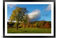 Hope Valley in Autumn                             , Framed Mounted Print