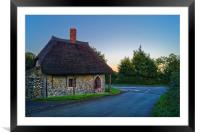 Chard Round House                      , Framed Mounted Print
