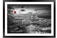 Portland Bill Lighthouse                          , Framed Mounted Print