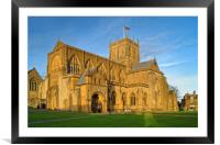 Sherborne Abbey                       , Framed Mounted Print