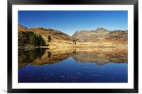 Blea Tarn, Lake District                          , Framed Mounted Print
