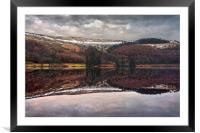 Derwent Winter Reflections                        , Framed Mounted Print