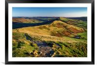 Along the Great Ridge                             , Framed Mounted Print