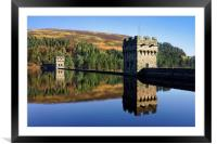 Derwent Dam and Reservoir, Framed Mounted Print