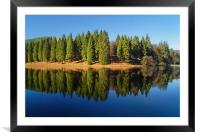 Derwent Inlet Reflections                     , Framed Mounted Print