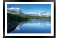 Burrator Reflections                              , Framed Mounted Print