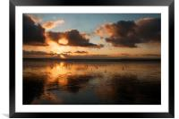 Aberavon Reflections , Framed Mounted Print