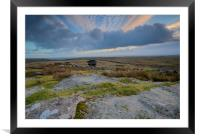 The Cheesewring Bodmin Moor, Framed Mounted Print