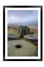 The Millstones, Framed Mounted Print