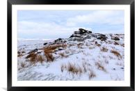 Winter Bodmin Moor, Framed Mounted Print