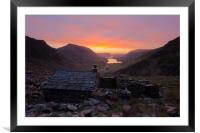 The Bothy, Framed Mounted Print