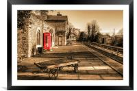 Hadlow Road Station, Framed Mounted Print