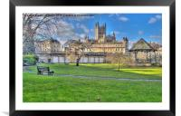Bath Abbey from Parade Gardens, Framed Mounted Print