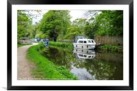 Monmouthshire and Brecon Canal , Framed Mounted Print