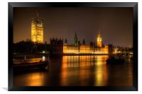 Houses of Parliament, Framed Print