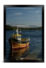 'Serene' one beautiful May afternoon. , Framed Print