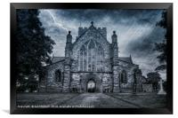 St Asaph Cathedral, Framed Print