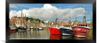 The Fleet Pittenweem, Framed Print
