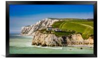 Fort Redoubt Freshwater Bay Isle Of Wight, Framed Print