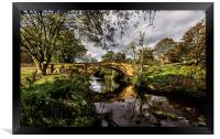 Lealholm Bridge, Framed Print