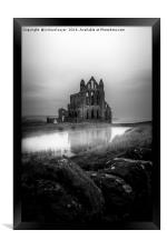 Whitby Abbey, Framed Print