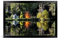 Autumnal Reflections, Framed Print