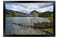 Buttermere And Fleetwith Pike, Framed Print